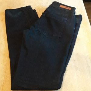Express black skinny Stella low rise jeans